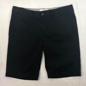 Banana Republic Black Bermuda Shorts STRETCH